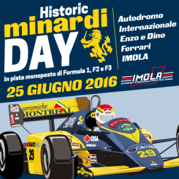 HISTORIC MINARDI DAY - Autodromo Paddock 1